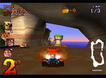 Pantallazo del juego online CTR (Crash Team Racing) (PSX)