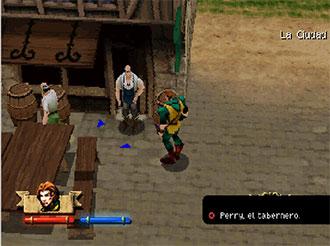 Pantallazo del juego online Darkstone (PSX)