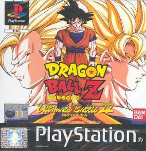 Portada de la descarga de Dragon Ball Z Ultimate Battle 22