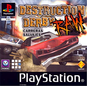 Carátula del juego Destruction Derby Raw (PSX)