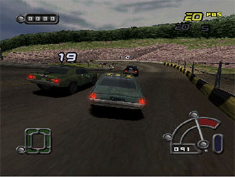 Pantallazo del juego online Destruction Derby Raw (PSX)