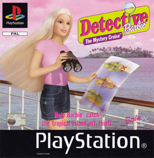 Portada de la descarga de Detective Barbie: The Mystery Cruise