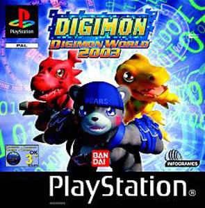 Carátula del juego Digimon World 2003 (PSX)