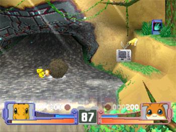 Pantallazo del juego online Digimon Rumble Arena (PSX)