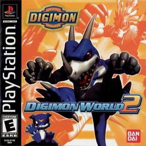 Portada de la descarga de Digimon World 2