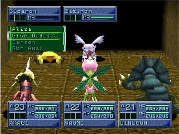 Imagen de la descarga de Digimon World 2