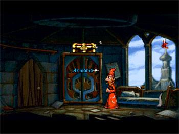 Pantallazo del juego online Discworld (PSX)