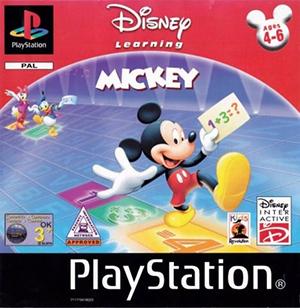 Portada de la descarga de Disney's Get Ready For School With Mickey