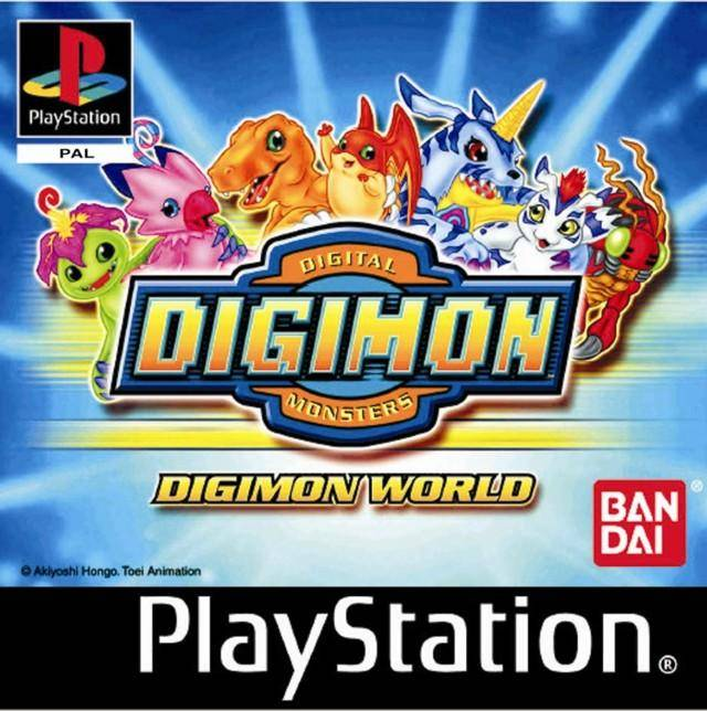 Juego online Digimon World (Esp)(PSX)