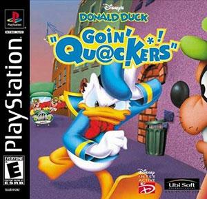 Portada de la descarga de Disney's Donald Duck: Goin' Quackers