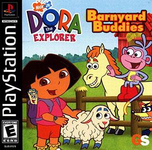 Portada de la descarga de Dora the Explorer: Barnyard Buddies