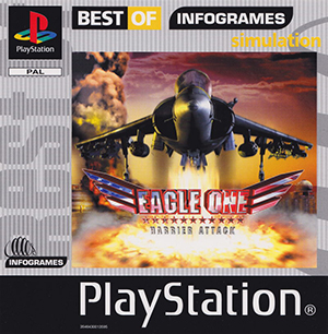 Portada de la descarga de Eagle One: Harrier Attack