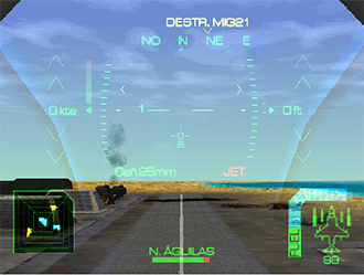 Imagen de la descarga de Eagle One: Harrier Attack