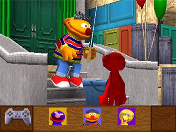 Imagen de la descarga de Sesame Street: Elmo's Letter Adventure