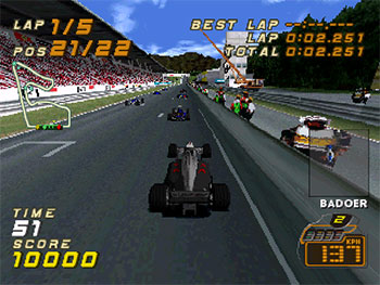 Imagen de la descarga de F1 Racing Championship