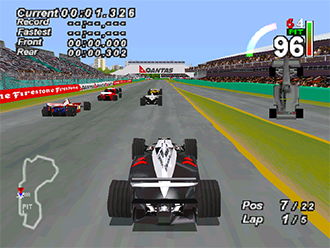 Imagen de la descarga de F1 World Grand Prix: Season 1999