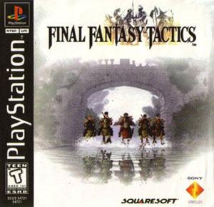 Portada de la descarga de Final Fantasy Tactics