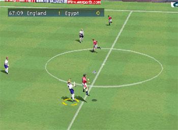Pantallazo del juego online FIFA 2000 (Rip) (Psx)