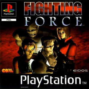 Portada de la descarga de Fighting Force