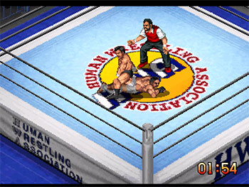 Imagen de la descarga de Fire Pro Wrestling G