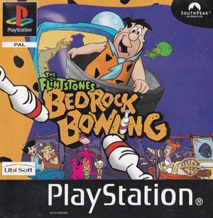 Portada de la descarga de The Flintstones: Bedrock Bowling
