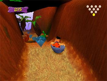 Imagen de la descarga de The Flintstones: Bedrock Bowling