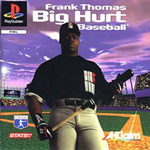Portada de la descarga de Frank Thomas Big Hurt Baseball