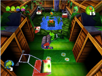 Imagen de la descarga de Frogger 2: Swampy's Revenge