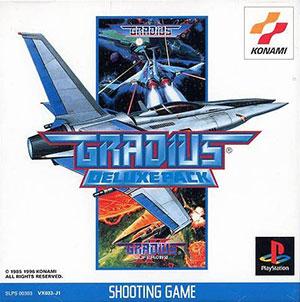 Portada de la descarga de Gradius Deluxe Pack