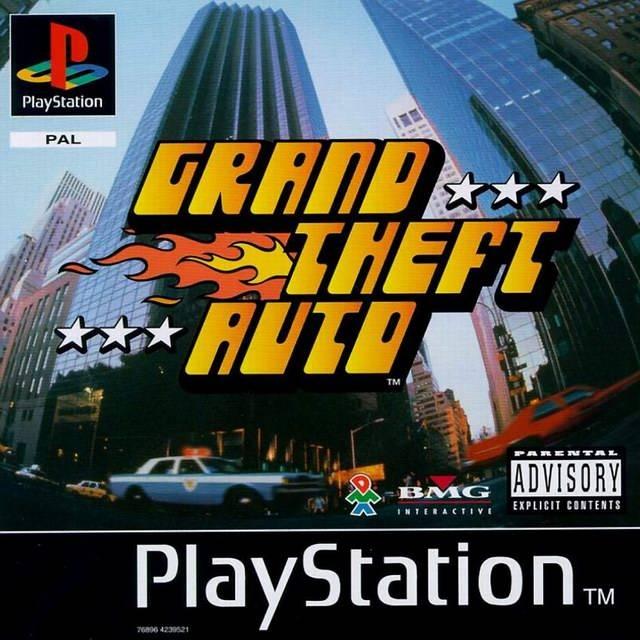 Portada de la descarga de Grand Theft Auto