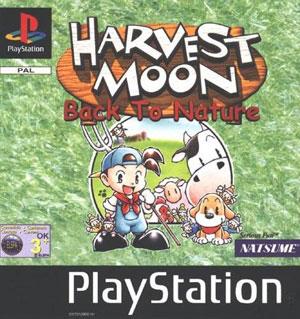 Portada de la descarga de Harvest Moon: Back to Nature