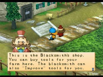 Imagen de la descarga de Harvest Moon: Back to Nature