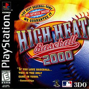 Portada de la descarga de High Heat Baseball 2000