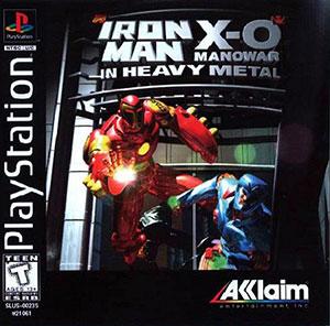 Juego online Iron Man X-O Manowar in Heavy Metal (PSX)