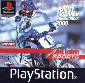 Juego online Jeremy McGrath Supercross 2000 (PSX)