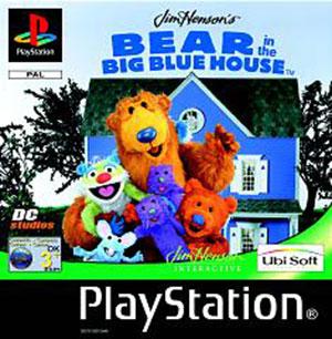 Portada de la descarga de Jim Henson's Bear in the Big Blue House
