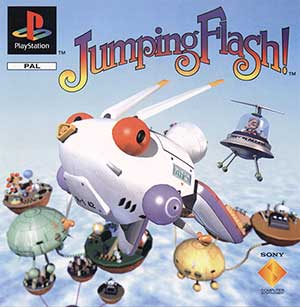 Juego online Jumping Flash! (PSX)