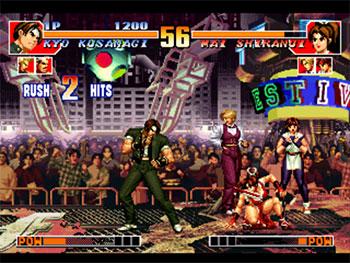Imagen de la descarga de The King of Fighters '97