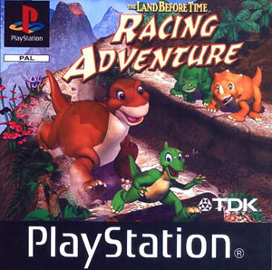 Carátula del juego The Land Before Time Racing Adventure (PSX)