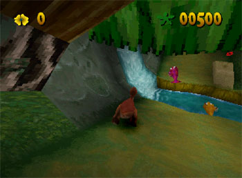 Pantallazo del juego online The Land Before Time Racing Adventure (PSX)