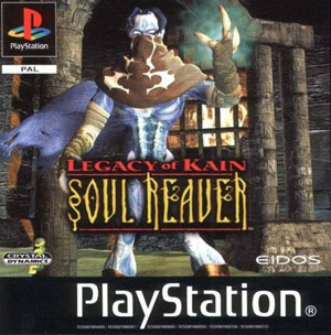 Carátula del juego Legacy of Kain Soul Reaver (PSX)