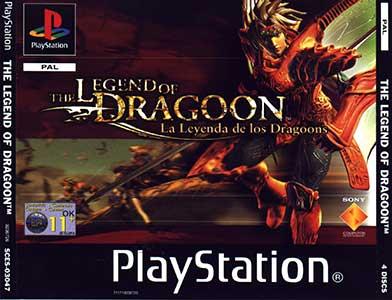 Portada de la descarga de The Legend of Dragoon