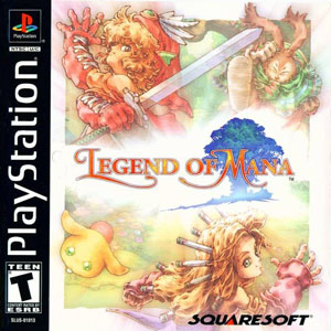 Portada de la descarga de Legend of Mana