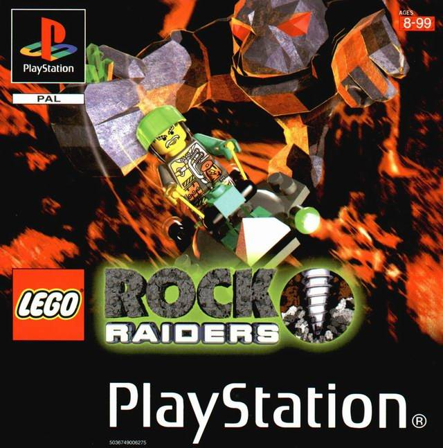 Portada de la descarga de LEGO Rock Raiders