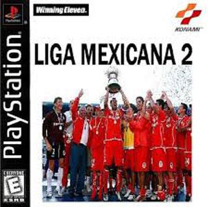 Carátula del juego Winning Eleven 2002-Liga Mexicana (Hack) (PSX)