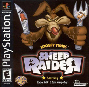Portada de la descarga de Looney Tunes: Sheep Raider