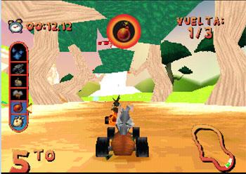 Imagen de la descarga de Looney Tunes Racing