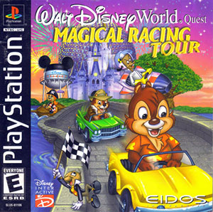 Juego online Walt Disney World Quest: Magical Racing Tour (PSX)