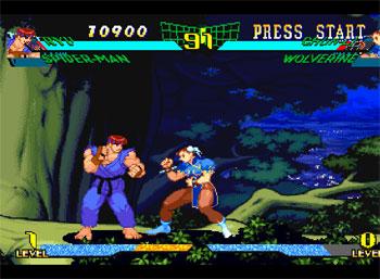 Imagen de la descarga de Marvel Super Heroes Vs Street Fighter