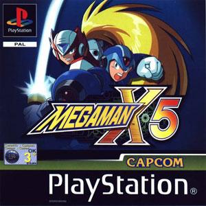Carátula del juego Mega Man X5 (PSX)
